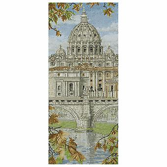 Anchor Cross Stitch Kit: St Peters Basilica