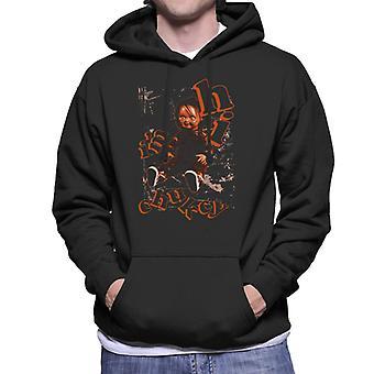 Chucky Im Chucky Hi Men's Sweatshirt met capuchon