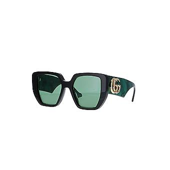 Gucci GG0956S 001 Black/Green Sunglasses