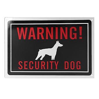 1pc Univeral Крытый Открытый Использование Алюминий Предупреждение Безопасности Собака Знак