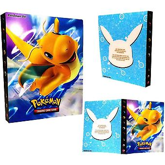 FengChun Pokemon Kartenhalter, Pokemon Karten GX EX Trainer Alben, Sammelkartenalben, 30 Seiten Kann