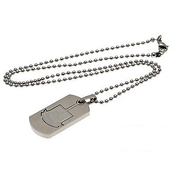 West Ham United FC Dog Tag And Chain