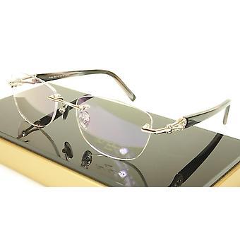 Paul Vosheront PV362 C2 23KT Gold Plated Eyeglasses Frame Italy Made