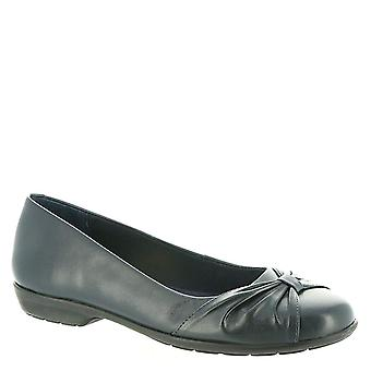 Walking Cradles Womens Fall Leather Round Toe Ballet Flats