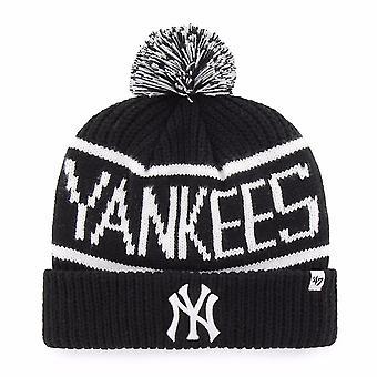 47 Marke Mlb New York Yankees schwarz Calgary Manschette Mütze stricken