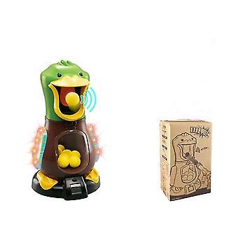 Green duck (2 guns + 24 bullets) eva catapult soft bullet gun, children's shooting toy az2683