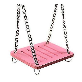 Hámster rosa swing color tablero ecológico swing hámster hámster de juego suministros de hámster x1750