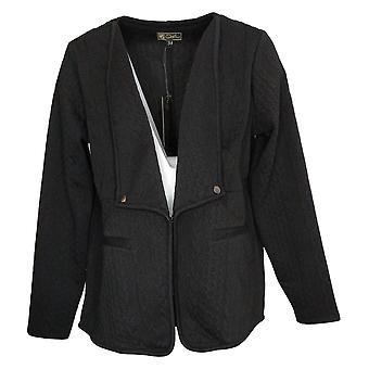 DG2 by Diane Gilman Women's Blazer Reg Polyester Black 740978