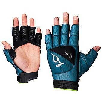 Kookaburra Xenon Plus 3/4 Finger Handschutz Türkis/Schwarz XSmall LH