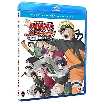 Naruto Shippuden The Movie 3 The Will Of Fire Blu-ray & DVD