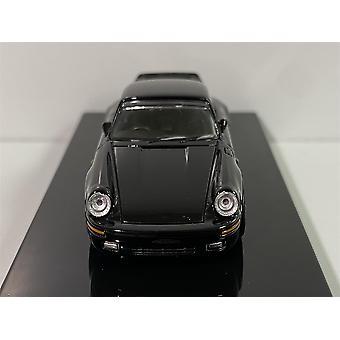 Porsche RUF CTR 1987 Yellowbird RHD Black 1:64 Scale Paragon 65292R