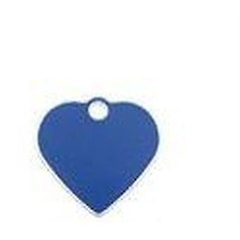 Imarc Small plate 4x3cm Heart Aluminum iMARC