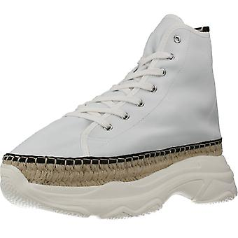 Yellow Botines Street Boot Party Leather Color Blanco