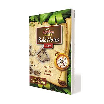 NIV Adventure Bible Field Notes Mark Taschenbuch Comfort Drucken Sie mein erstes Bibeltagebuch von Zondervan