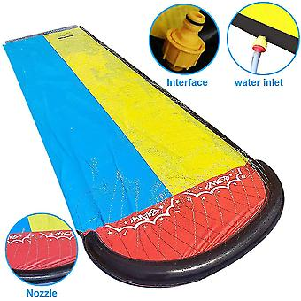 Lawn Water Slides For Kids Adults Garden Backyard Giant Racing Lanes(GROUP1)