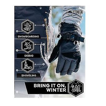 Ski Snow Gloves  Waterproof  Windproof Winter Snowboard Gloves For Men Women