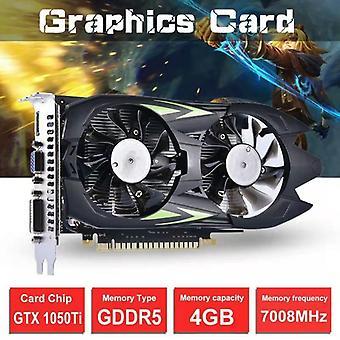 GTX 1050 Ti -näytönohjain Ultra Gaming 4 Gt GDDR5 128-bittinen kaksoistuuletin