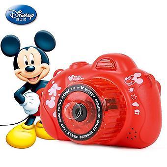Disney Frozen Princess Elsa Sommer Automatische Kamera Bubble Maker Party Bubble Machine (Rot)