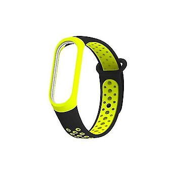 Siliconen horlogeband voor Xiaomi Mi Band 3 & 4 Groen