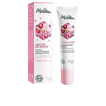 Melvita Nektar De Roses Gel Frais Contour Des Yeux 15 ml för kvinnor