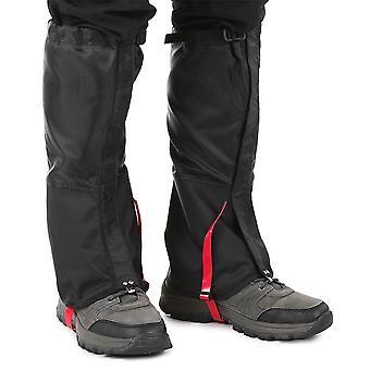 Unisex waterproof cycling legwarmers leg cover gaiters camping hiking ski boot windproof shoe snow hunting climbing gaiters