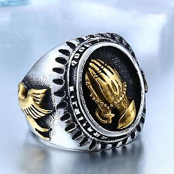 Men's Rings, Vintage Accessories, Prayer Hands Of The Virgin Mary, Party Jewelry, Unique Christmas Gifts