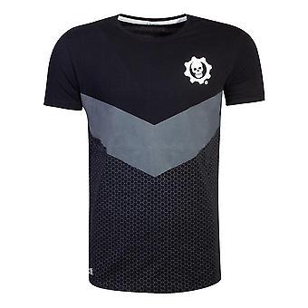Tonal Colour Block T-Shirt