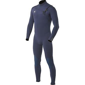 Vissla seven seas 5-4 full chest zip wetsuit