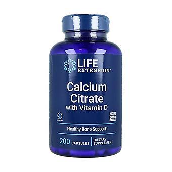 ビタミンD 200カプセルとクエン酸カルシウム