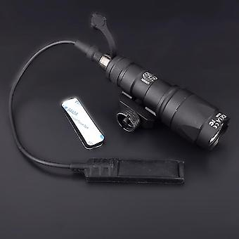 Tactical M300 M300a Mini Scout Weapon Flashlight Torch/ Rifle Light