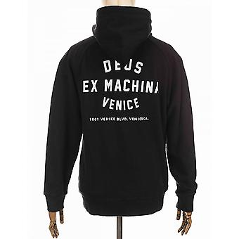 Deus Ex Machina Venice Address Hooded Sweat - Black
