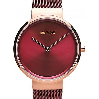 Bering Rot Edelstahl 14531-363 Damenuhr