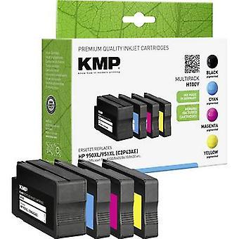 Tinta KMP sustituye HP 950XL, 951XL Compatible conjunto negro, cian, Magenta, amarillo H100V 1722,4050