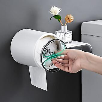 Waterproof And Creative Tissue Dispenser, For Bathroom, Portable Toilet, Storage Box