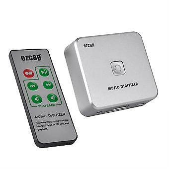 Ezcap 241 Analogový hudební digitizér audio rekordér 3,5mm Jack Mini Usb Power D3o5