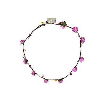 Led Hair Wreath Hairband Flower Crown Multicolor Festival Party Hoofddeksel