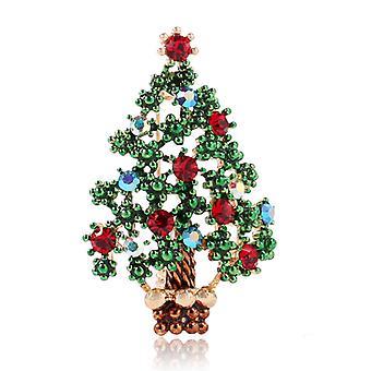 Karácsonyfa Bross csapok Öltöny Corsage Bross ruházati kiegészítők