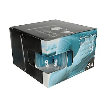 35cl Water glazen Set van 4 Bar Drink sap de Tuimelschakelaars van de partij glaswerk