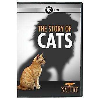 Natureza: História dos gatos [DVD] EUA importação