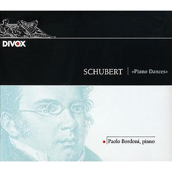 F. Schubert - Schubert: Piano Dances [CD] USA import
