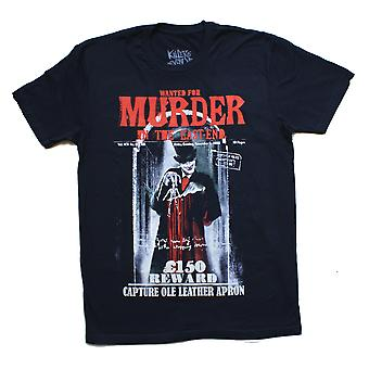 Knd - wanted for murder - short sleeve t-shirt