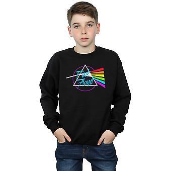 Pink Floyd garçons Neon Darkside Sweatshirt