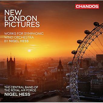 Nigel Hess - New London foto's: Werken voor symfonisch blaasorkest door Nigel Hess [CD] USA import