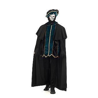 Venetsialainen aatelismies Prince miesten puku naamiaispuku