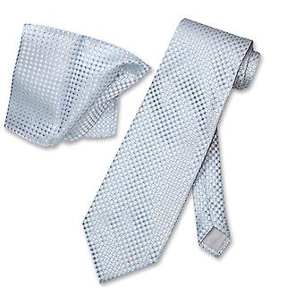 Antonio Ricci NeckTie Handkerchief Design Men Neck Tie Set