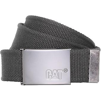 CAT Workwear Mens Value Logo Metal Buckled Work Belt