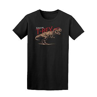 Survival T-Rex Dinosaur Tee Men's -Image by Shutterstock