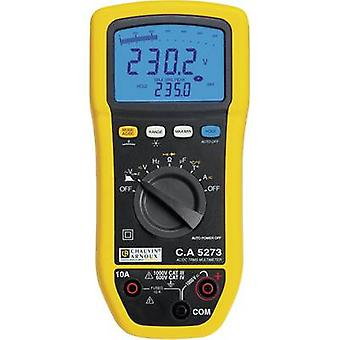 Chauvin Arnoux C.A 5273 Handheld multimeter Digital Splashproof (IP54) CAT III 1000 V, CAT IV 600 V Display (counts): 6000