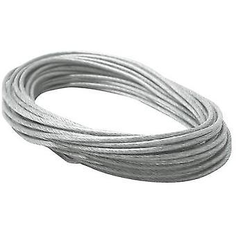 Paulmann 979055 Low voltage cable kit Suspension cable Transparent, Grey