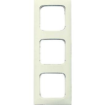Busch-Jaeger 3 x Frame Duro 2000 SI lineaire crème-wit 2513-212K-101